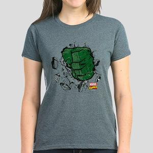 Hulk Fist Women's Dark T-Shirt