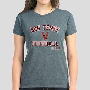 Bon Temps Football Women's Dark T-Shirt