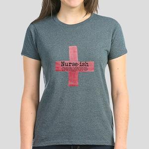 Nurse ish Student Nurse Women's Dark T-Shirt