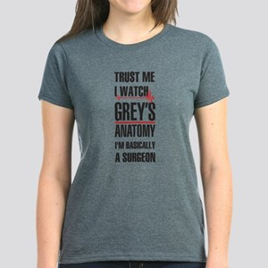 Greys Anatomy trust me black T-Shirt
