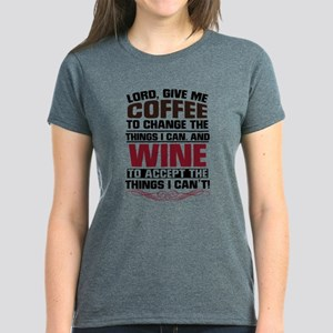 Coffee and Wine Women's Classic T-Shirt