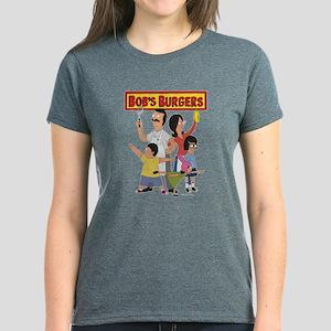 Bob's Burger Hero Family Women's Dark T-Shirt