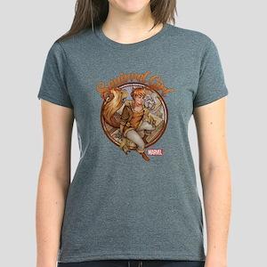 Squirrel Girl Rooftop Women's Dark T-Shirt