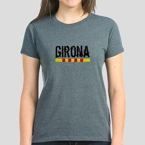 Catalunya: Girona Women's Dark T-Shirt