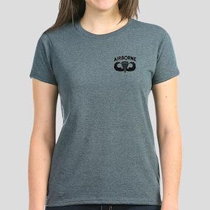 Jump Wings Stencil Women's Dark T-Shirt
