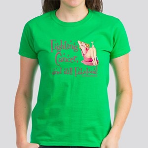 Fabulous Cancer! Women's Dark T-Shirt