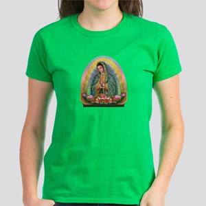 Guadalupe Yellow Aura Women's Dark T-Shirt