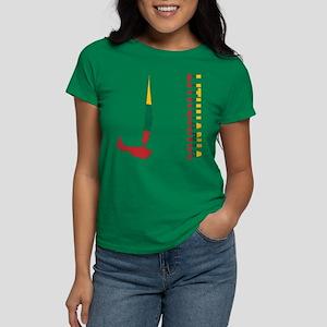 Sailing Lithuania Women's Dark T-Shirt