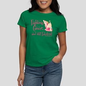 Fabulous Cancer! Women's Dark T-Shirt