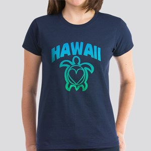 Hawaii Sea Turtle Women's Dark T-Shirt