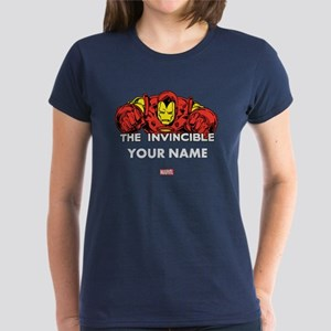 The Invincible Iron Man Perso Women's Dark T-Shirt