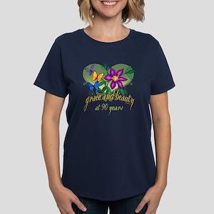 e2b6a6f2 90th Birthday Women's T-Shirts - CafePress