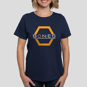 Bones Logo Women's Dark T-Shirt
