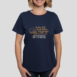 Bones IQ Women's Dark T-Shirt