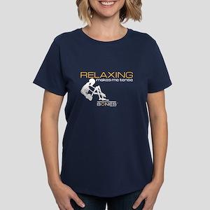Bones Relaxing Women's Dark T-Shirt