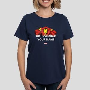 The Invincible Iron Man Perso Women's Dark T-Shirt