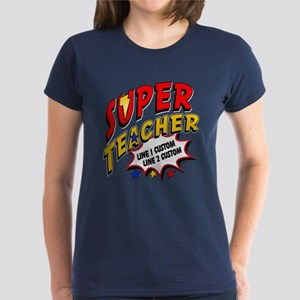 Teacher Super Hero Women's Dark T-Shirt