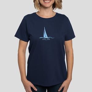 Cape Ann. Women's Dark T-Shirt