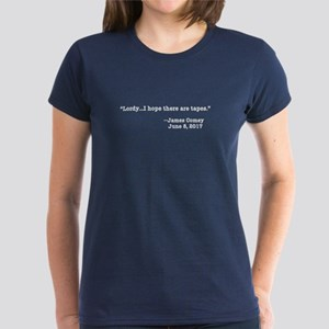 LORDY I HOPE THERE ARE TAPES Women's Dark T-Shirt