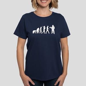 Fireman Evolution Women's Dark T-Shirt