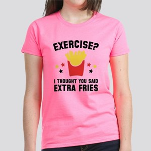 Exercise? Women's Dark T-Shirt