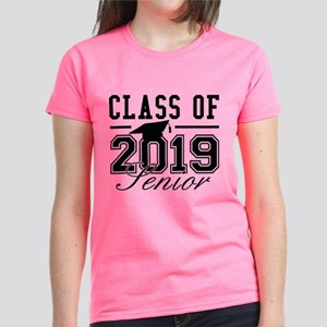 Class Of 2019 Senior Women's Dark T-Shirt