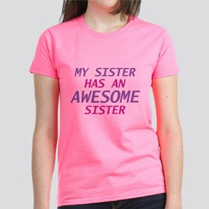 Awesome Sister Women's Dark T-Shirt