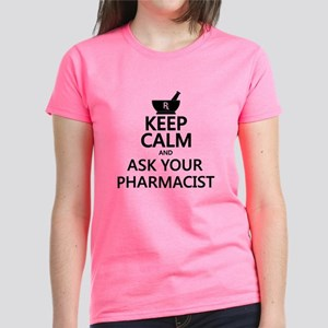 Keep Calm and Ask Your Pharma Women's Dark T-Shirt