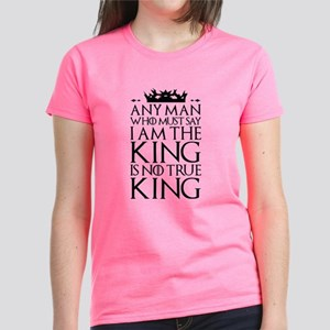 I Am The King Women's Dark T-Shirt