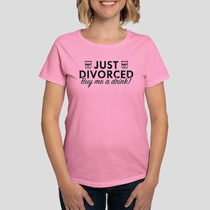 d3f49221 Just Divorced Women's Dark T-Shirt