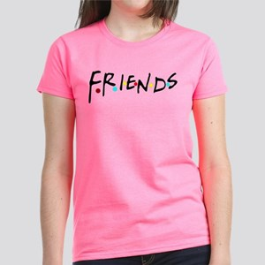 93ee3a516 friendstv logo Women's Dark T-Shirt