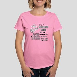 Marine Mom Psalm 112 T-Shirt