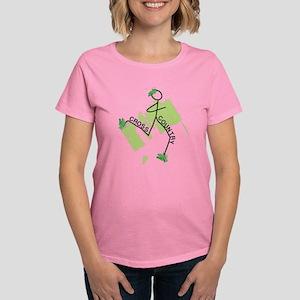 Cute Cross Country Runner Women's Dark T-Shirt