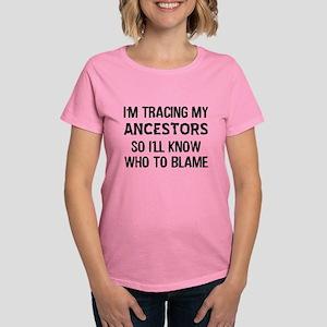 Funny Genealogy Women's Dark T-Shirt