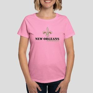 New Orleans Louisiana gold Women's Classic T-Shirt