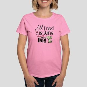 Wine & Dog Dark T-Shirt