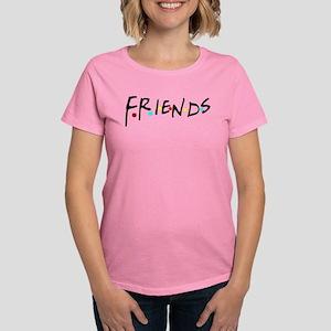 friendstv logo Women's Dark T-Shirt