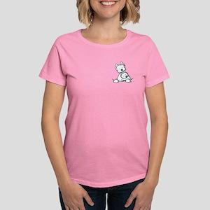 Westie Hug Women's Dark T-Shirt