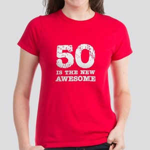 50 Awesome (scratch) Women's Dark T-Shirt