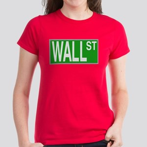 Wall St Women's Dark T-Shirt