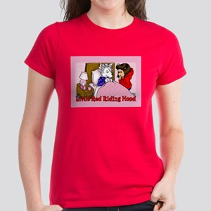 Red Riding Hood Women's Dark T-Shirt