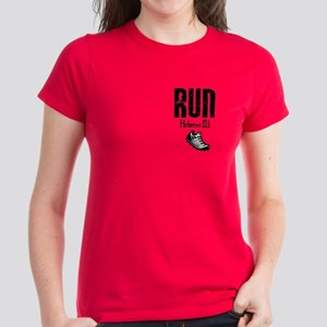 Hebrews Run Women's Dark T-Shirt