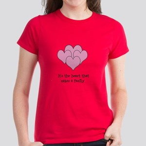 many hearts Women's Dark T-Shirt