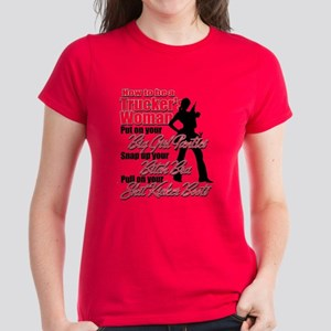 How to be a Trucker's Woman Women's Dark T-Shirt