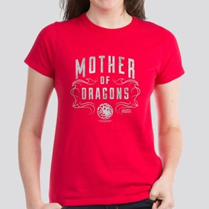 c62fe38b8d Game of Thrones Mother of Dra Women's Dark T-Shirt
