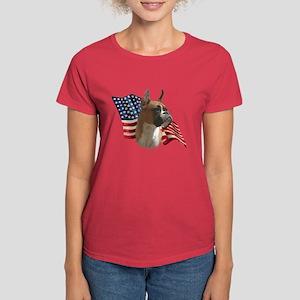 Boxer Flag Women's Dark T-Shirt