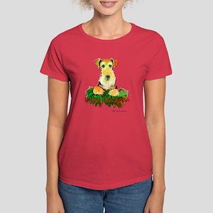 Airedale Holiday Women's Dark T-Shirt