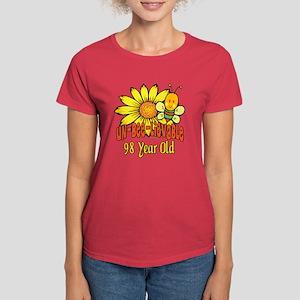 Un-Bee-Lievable 98th Women's Dark T-Shirt