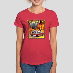 LADDER TRUCK Women's Dark T-Shirt