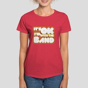 I'm With The Band Women's Dark T-Shirt